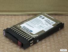"""Hp 72 Go 15k SAS 2.5"""" Chaud sWaP Disque Dur 432321-001 Pour Proliant Serveurs"""