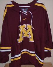 Minnesota Gophers Nike Bauer hockey jersey Xl