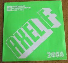 Schallplatte Vinyl Maxi-Single Bigroomoo7 DJ Murphy Brown Axel F. 2003