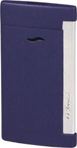 S.T.Dupont lighter Slim 7 Navy Blue Matte / 1er Jet / 7 MM Wide / 45 G