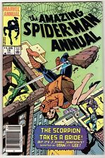THE AMAZING SPIDER-MAN ANNUAL #18 Scripted by Stan Lee Scorpion Jameson Weds VF