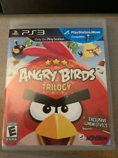 Angry Birds Trilogy Sony PlayStation 3 PS3 Used