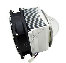20W - 60W Led Heatsink With Fan 12V + 66MM Led Lens Base With 90 Degree