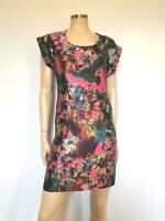 Erdem Stunning Silk Floral Shift Dress - UK 6