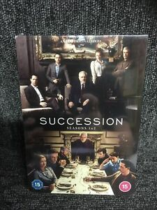 Succession: Seasons 1 & 2 (DVD) Brian Cox, New Sealed. Minor Box Wear. Freepost