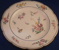 Antique 18thC Chantilly Softpaste Porcelain Sevres Design Plate Porzellan Teller