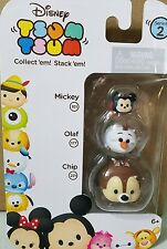 Disney Tsum Tsum New Series 2 Mickey Olaf Chip Collectible Toy Figurine