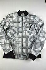 Shift Womens Motorcycle Jacket Size M Padded Armour Biker Plaid Racing