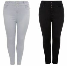 New Look Cotton Blend High Rise Jeans for Women