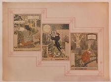 Eugène Grasset calendrier Belle jardinière Art Nouveau Modern Art 1896