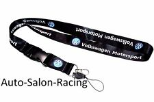 For VW Volkswagen Lanyard Neck Cell Phone Key Chain Strap Quick Release Jetta