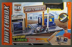Matchbox Adventure Links Police Headquarters 60th Anniversary Edition! New!