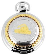 Reloj de bolsillo Blanco Plateado Dorado Ferrocarril S-180812000056350