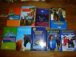 7 Kinderbücher Mädchen, Ostwind, Rote Zora, Witches