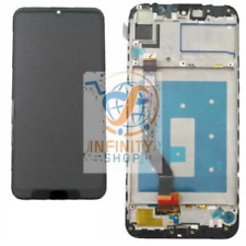 TOUCH VETRO SCHERMO LCD DISPLAY + FRAME HUAWEI Y7 2019 NERO DUB-LX1 LX2 L22