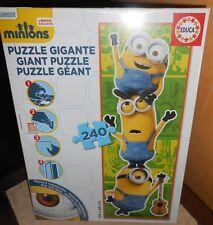 puzzle géant 240 pièces MINIONS - sous blister