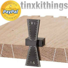 Aluminum Dovetail Marker Layout Measuring Tool Gauge Jig Template Wood Joint New