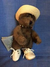 Vintage Boyd's Bear Wearing Collar, Hat & Shoes Jointed