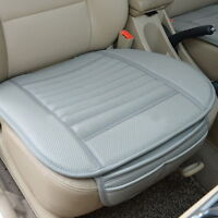 Car Front Back Seats Cover PU Leather Pad Soft Protector Mat Cushion Breathable