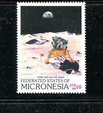 MICRONESIA 82, 1989 MOON LANDING, MNH (ID5640)