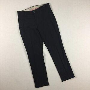 Banana Republic Womens Size 0 Navy Blue Hampton Pant Chinos Ankle Slim. F2