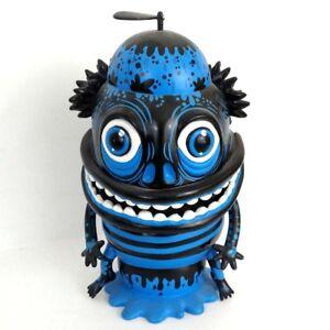 "Mindstyle Skwak The Maniac Blue 2007 7.5"" Vinyl Art Toy Figurine"