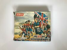 Vintage Airfix HO-OO 1:72 Soldiers - WATERLOO HIGHLAND INFANTRY