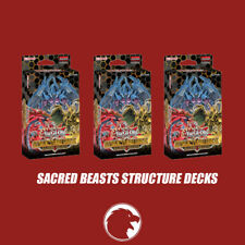 Yu-Gi-Oh! -Sacred Beasts Structure Deck - New And Sealed Box x3