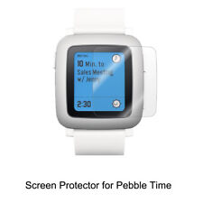 3* Clear LCD Screen Protector Cover Shield TPU Soft Film for Pebble Time
