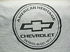 CHEVROLET AMERICAN HERITAGE DETROIT,MI EST.1911 Men's Size XL T-Shirt-Corvette!!