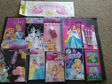 Disney Princesses School/Art Supplies, Notebooks, Coloring, Dry Erase,bSticker.