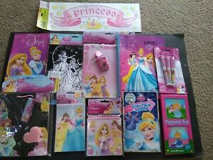 Disney Princesses School/Art Supplies, Notebooks, Coloring, Dry Erase,bSticker..