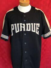 1990s Throwback Purdue Boilermakers Starter baseball jersey football big 10