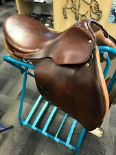 "17"" Courbette Husar Fels Bach AG English Jumping Saddle, Switzerland"