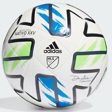 Adidas MLS Nativo XXV Club Ball White/Solar Green/Glow Blue/Black