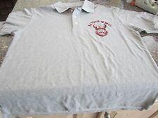 Diadora Soccer Polo Shirt - Gray - Medium - Lowndes Vikings