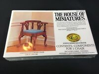 SEALED The House of Miniatures CHIPPENDALE CORNER CHAIR 1750-1780 X-Acto 40037
