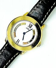 Cartier Must de Cartier Vermeil Quartz Ladies Watch Ref:CC1596 caso Dimensioni: 27mm