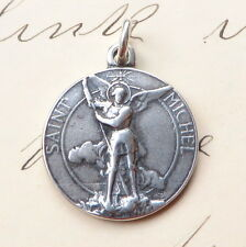 St Michael the Archangel Medal - Antique Replica