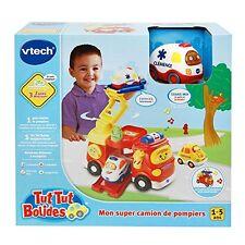 VTech Tut Tut Bolides Mein Super Feuerwehrauto  Einfache Spielmodelle Kinder