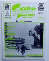 Scary Monsters, monster magazines, comic books, horror & Sci-Fi, B movies, films