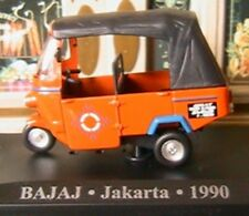 BAJAJ TAXI JAKARTA INDE INDIA 1990 1/43 IXO ALTAYA NEW