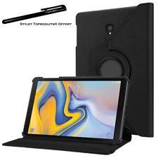 Housse Etui Noir pour Samsung Galaxy Tab S4 10.5 SM-T830 T835 Rotatif 360°