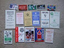 fixture card port vale 1988/9