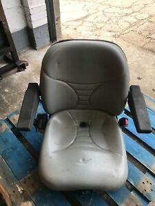 Seat assembly with weight adjuster X Jacobsen LF3800, Kubota V1505 D £100+VAT