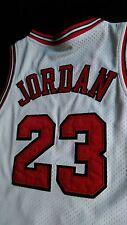vtg Nike 8403 NBA Chicago Bulls air Michael Jordan jumpman shoes jersey sz 42