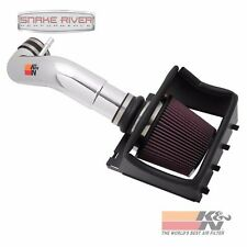 K&N COLD AIR INTAKE 2011-2014 FORD F150 5.0L V8  77-2581KP NON CARB POLISHED