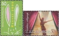 Ungarn 5010,5014 (kompl.Ausg.) postfrisch 2005 Ostern, Theater