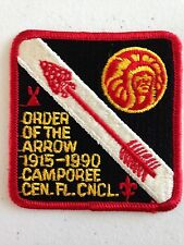 OA (BSA) Tipisa Lodge #326 - 1990 OA Camporee - Central Florida Council (w/o www