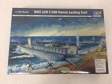 Trumpeter #00102 1/144 World War II LCM 3 USN Vehicle Landing Craft *Sealed*
